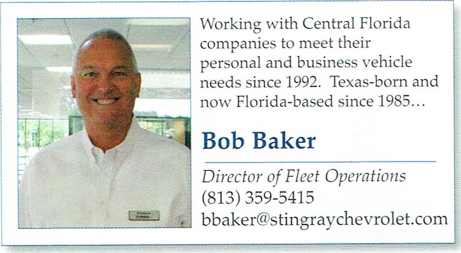 Bob Baker business card