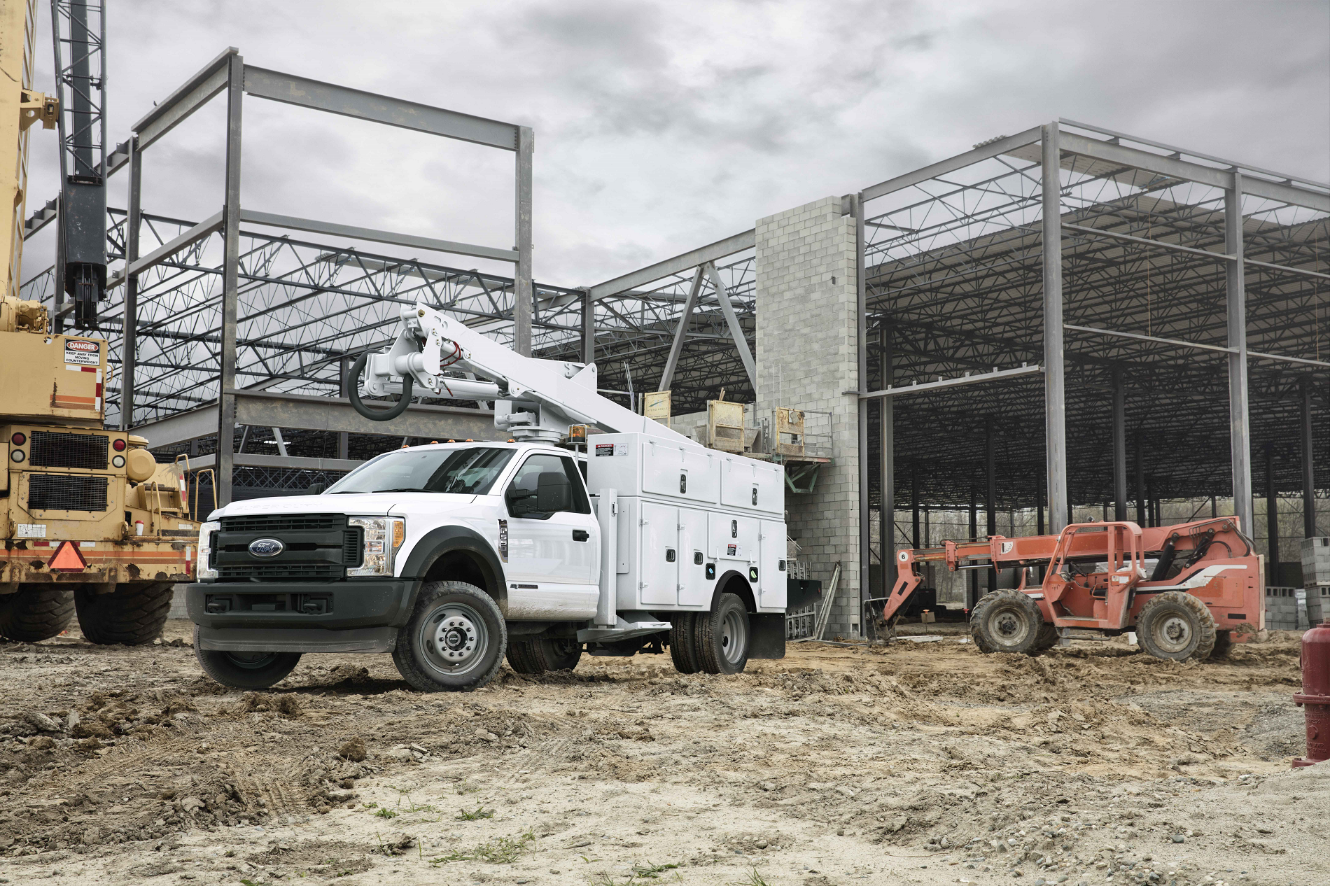 Construction Work Trucks from Ricart Ford in Groveport OH