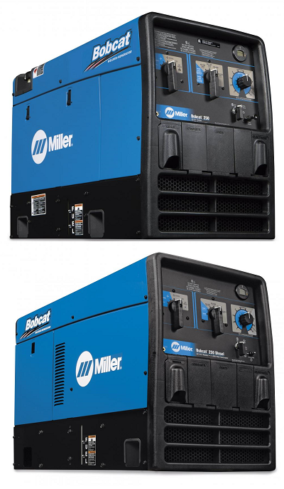 Miller Bobcat Gas and Diesel powered Generators/Welders