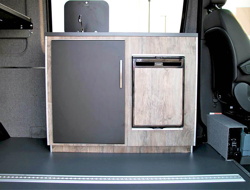 Mercedes-Benz Adventure Van Interior