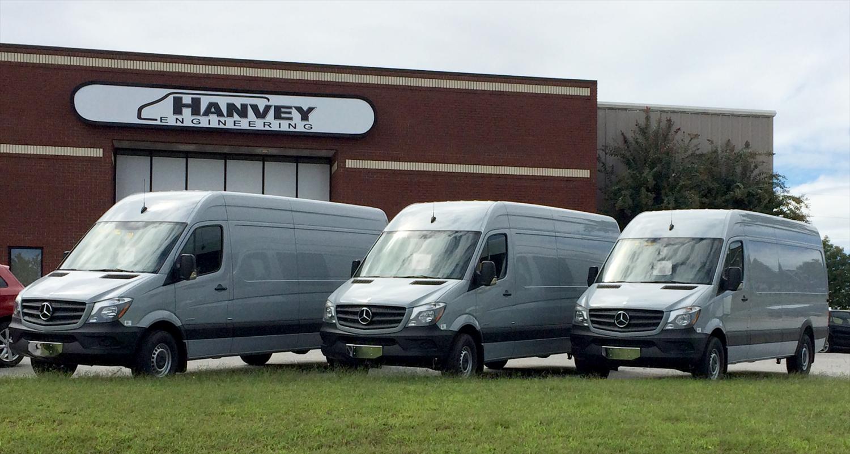 Hanvey Engineering Storefront and Mercedes-Benz Vans