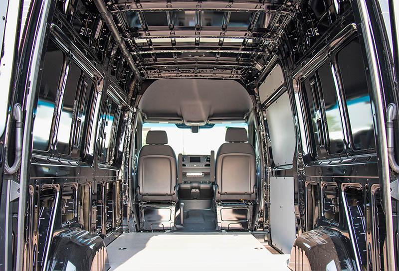 Mercedes-Benz Adventure Van Exterior