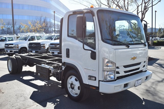 Low Cab Forward Cab Chassis Chevrolet and Isuzu work trucks in California