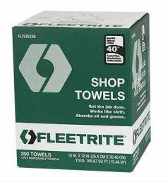 Fleetrite Shop Towels, 200 ct