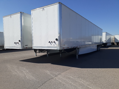 2020 Hyundai Composite Dry Van Trailer on-lot