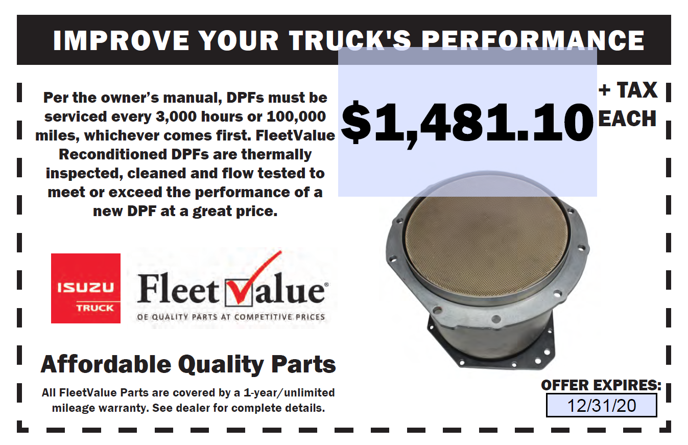 DPF Coupon
