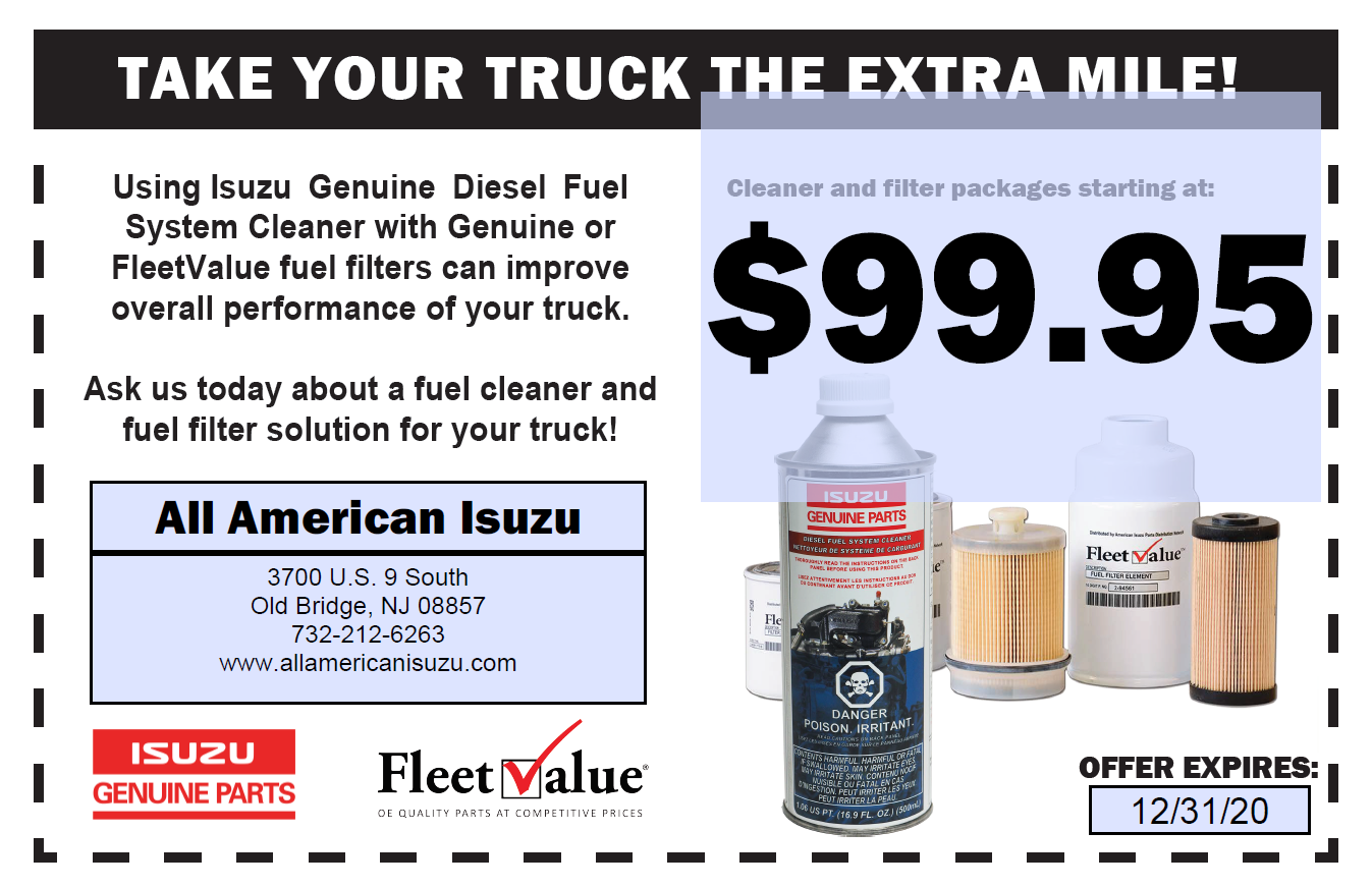 Diesel Fuel Cleaner Coupon