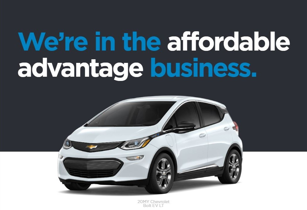 Special Leasing options available for Bolt EV LT at Mark Christopher Auto Center in Ontario CA