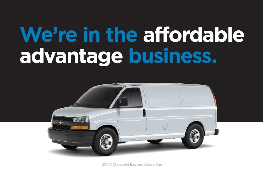 Special Leasing options available for Express 2500 and 3500 at Mark Christopher Auto Center in Ontario CA