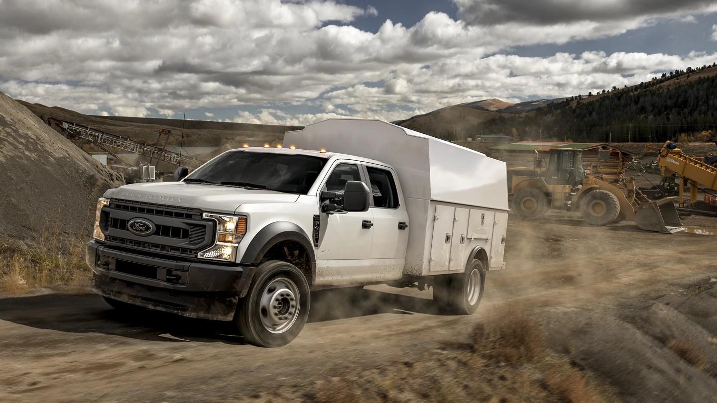 Ford F-550 Commercial Upfit