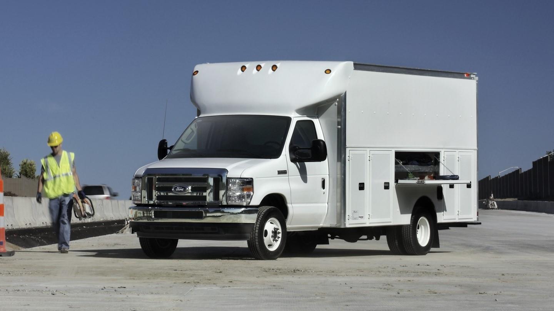 Ford E-350 Work Van