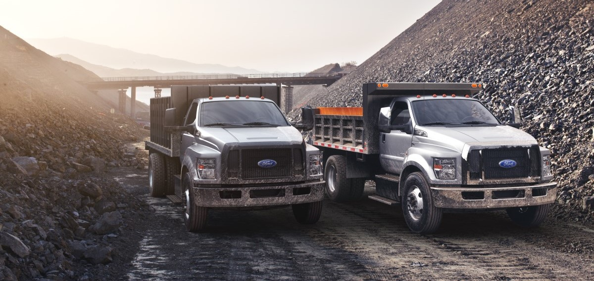 Ford F-650 Work Truck