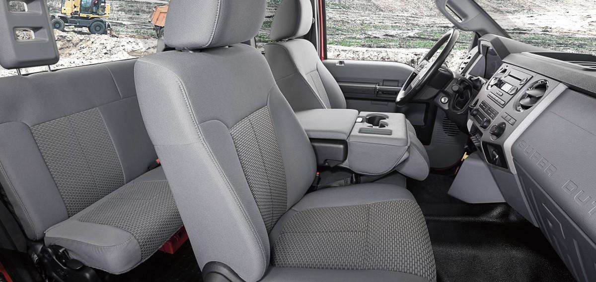 Ford F-650 Interior Seats