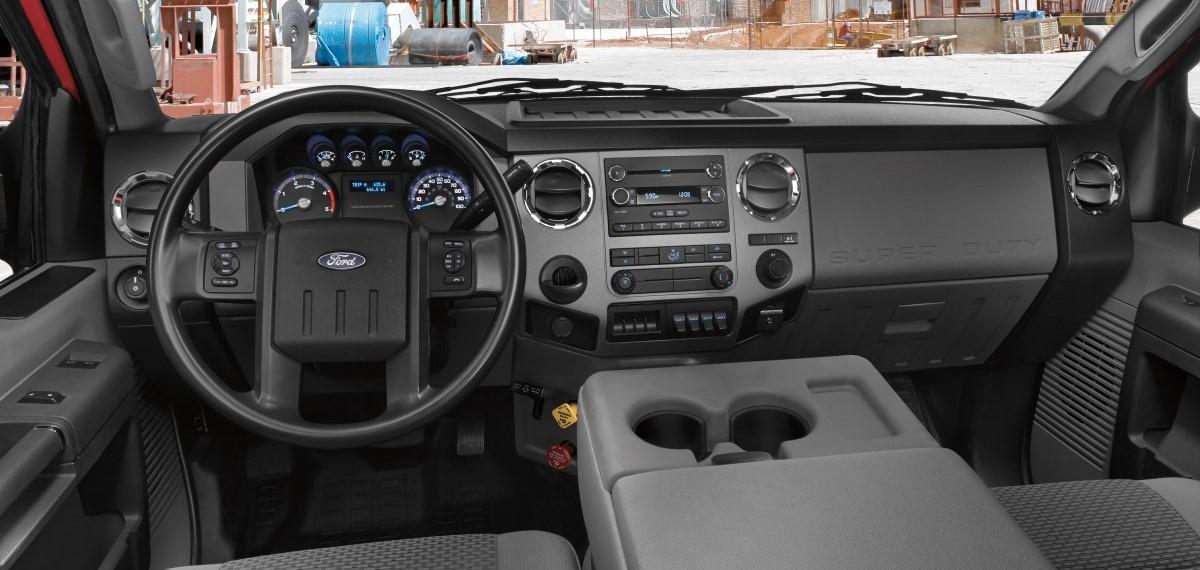 Ford F-650 Interior Dash