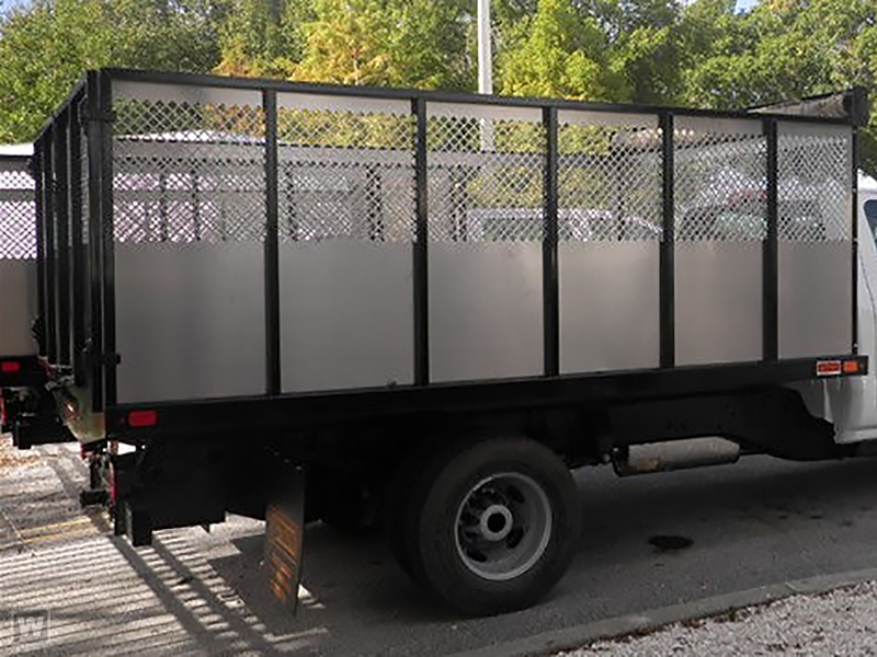 2019 Silverado 3500 Crew Cab DRW 4x2,  Action Fabrication Landscape Dump #S9182 - photo 1