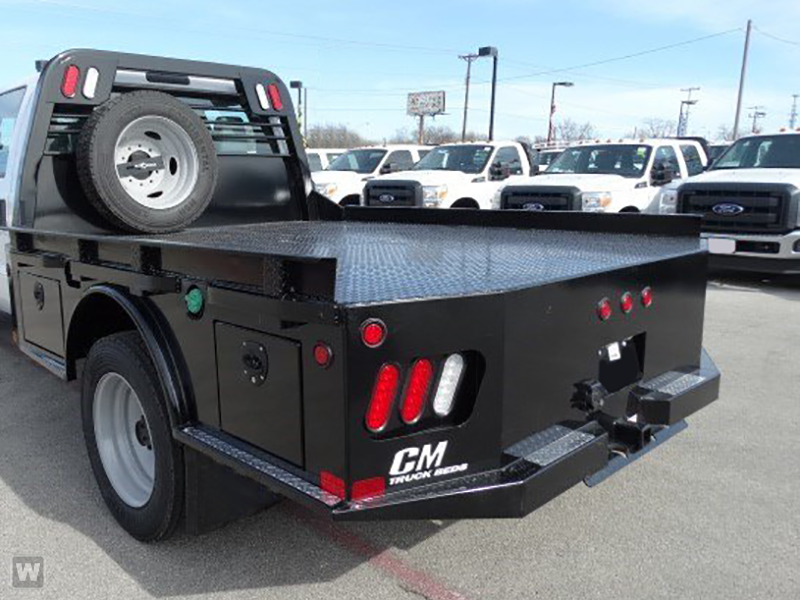 2017 F-350 Crew Cab DRW 4x4, CM Truck Beds SK Model Flatbed #TEE18401 - photo 1