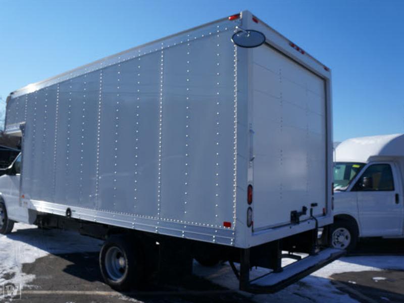 2017 LCF 4500 Regular Cab 4x2,  Dejana Truck & Utility Equipment Dry Freight #17185 - photo 1