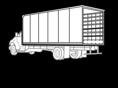 2019 E-350 4x2,  Morgan Dry Freight #19F0169 - photo 1