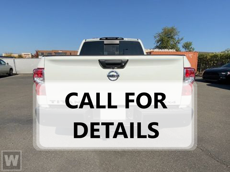2021 Nissan Titan 4x4, Pickup #K518955 - photo 1