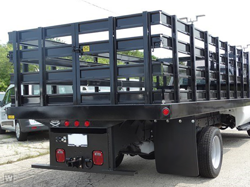 2019 F-550 Regular Cab DRW 4x2,  Parkhurst Stake Bed #T90443 - photo 1