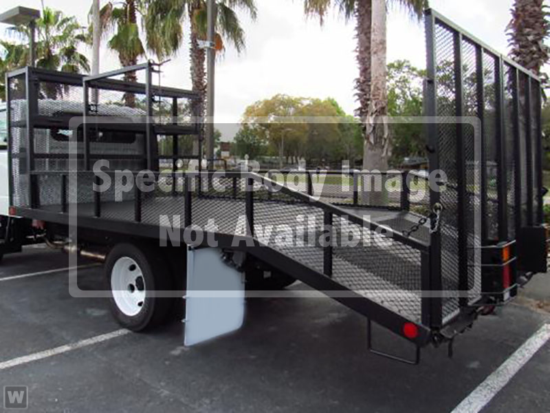 2017 LCF 4500HD Regular Cab 4x2,  Pinto Metal Fabrication Dovetail Landscape #M002076 - photo 1