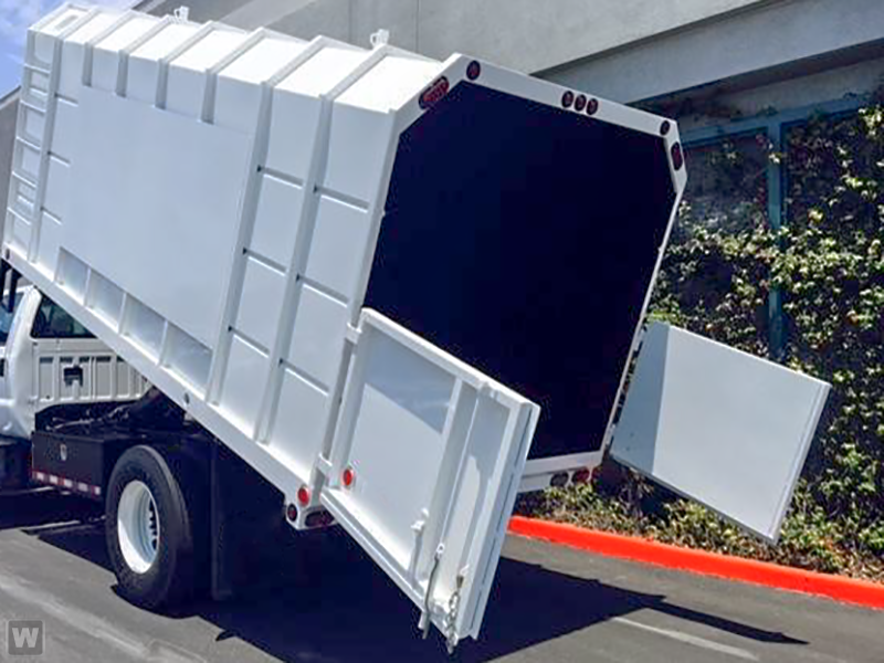 2019 F-650 Crew Cab DRW 4x2,  Southern California Truck Bodies Chipper Body #K2275 - photo 1