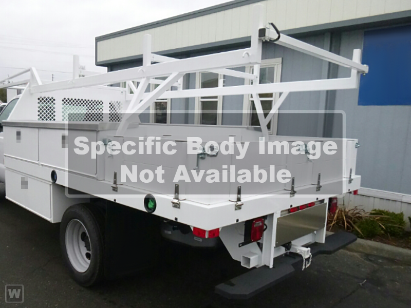 2019 Ford F-450 Regular Cab DRW 4x2, CM Truck Beds PL Model Contractor Body #9T1551 - photo 1