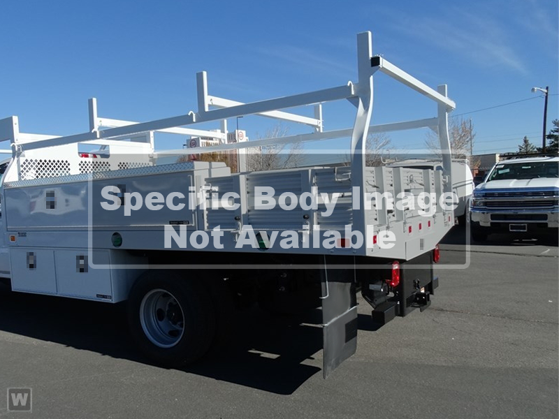 2019 Silverado 3500 Crew Cab DRW 4x4,  Harbor Contractor Body #M19455 - photo 1