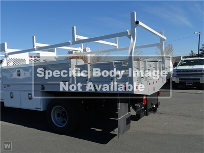 2020 Silverado 5500 Regular Cab DRW 4x2,  Monroe Truck Equipment AL Series Platform Body Contractor Body #C200770 - photo 1