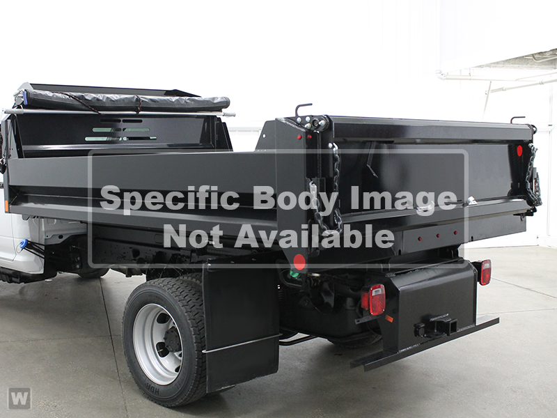 2018 Ram 3500 Regular Cab DRW 4x4, Galion Dump Body #N18556 - photo 1