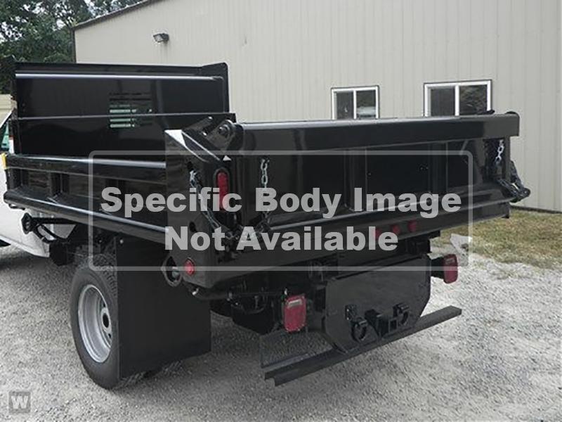 2021 Silverado 5500 Regular Cab DRW 4x2,  Galion 100U Dump Body #21MD10W - photo 1