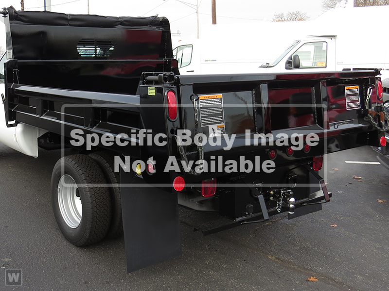 2019 F-550 Regular Cab DRW 4x4,  Duramag Dump Body #10015T - photo 1