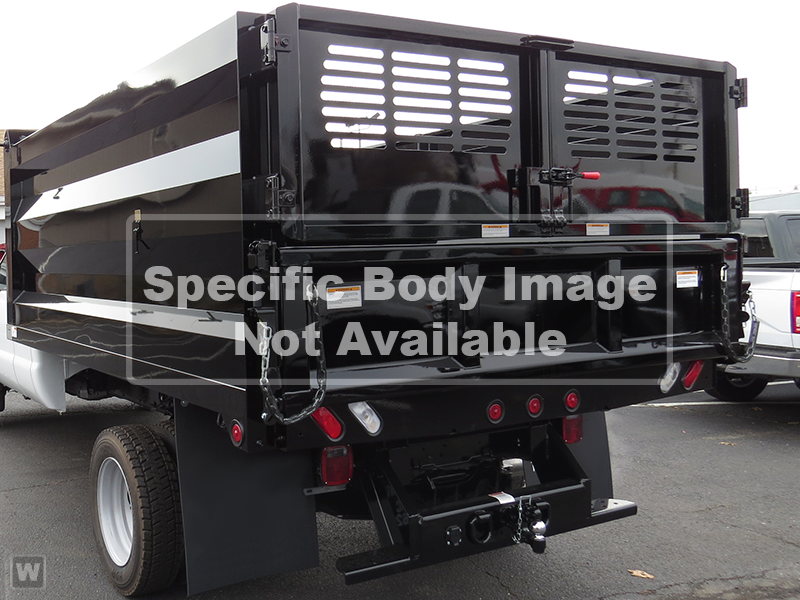 2019 F-550 Regular Cab DRW 4x2, Double A Landscape Dump #N153 - photo 1