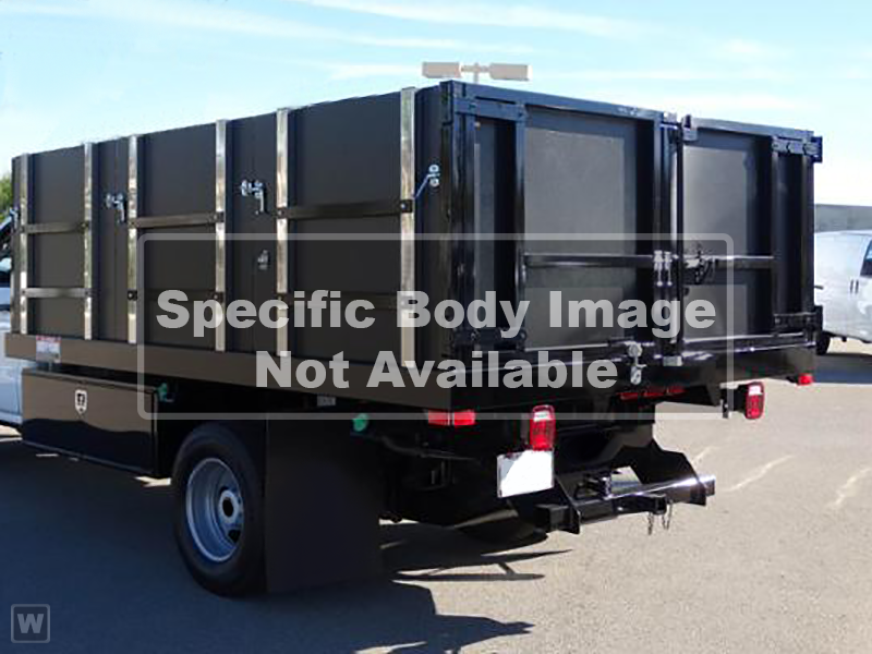 2019 LCF 5500HD Regular Cab 4x2,  Custom Truck Body & Equipment Landscape Dump #194011 - photo 1
