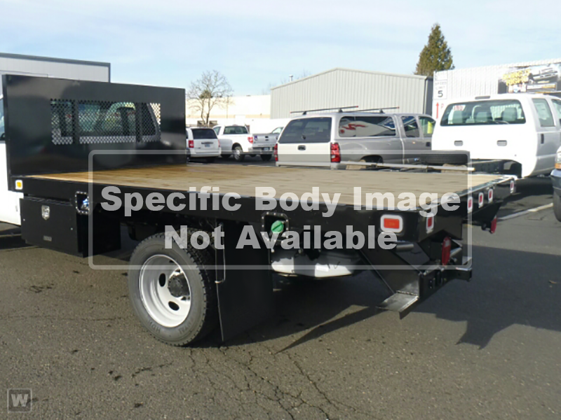 2021 Ford F-650 Regular Cab DRW 4x2, Bedrock Platform Body #RN20894 - photo 1
