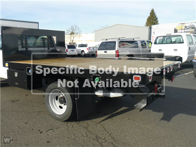 2019 F-550 Regular Cab DRW 4x2,  Monroe Work-A-Hauler II Platform Body #T19045 - photo 1