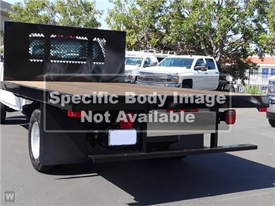 2019 Chevrolet Silverado Medium Duty Regular Cab DRW RWD, Action Fabrication Platform Body #C196355 - photo 1