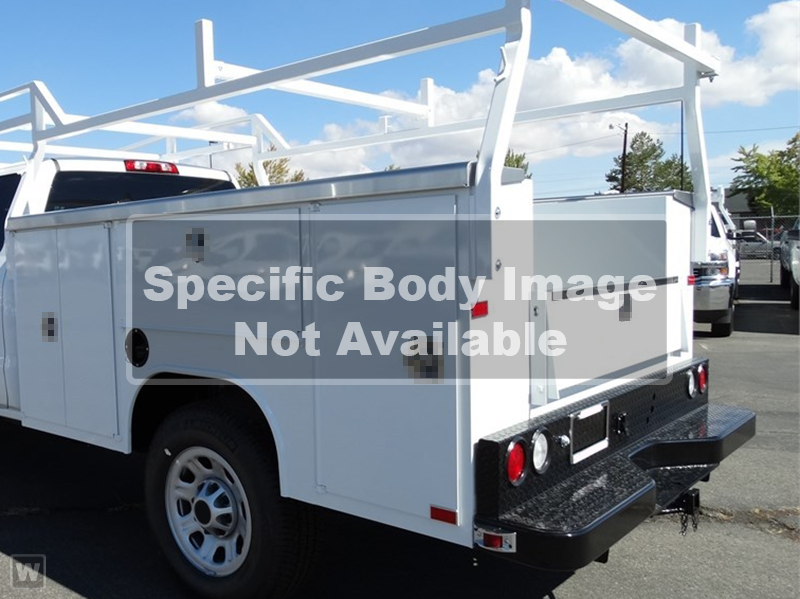 2019 Silverado 2500 Double Cab 4x2, Reading Service Body #DT10037 - photo 1