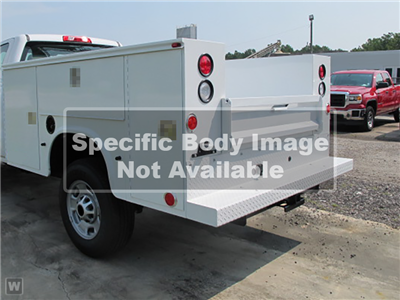 2021 Sierra 3500 Crew Cab 4x4,  Monroe Truck Equipment AL Series MSS II Service Body #G212151 - photo 1