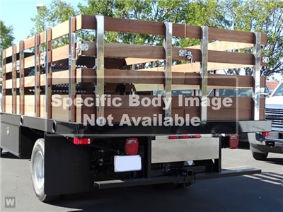 2019 LCF 4500 Regular Cab 4x2, Martin Stake Bed #S807101 - photo 1