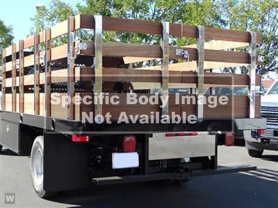2020 LCF 4500 Crew Cab DRW 4x2,  Monroe Truck Equipment Versa-Line Stake Body Stake Bed #49790 - photo 1