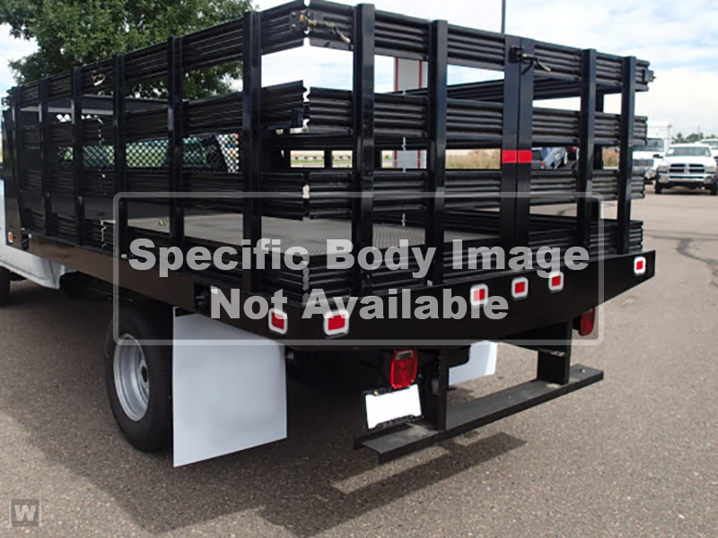 2020 Sierra 3500 Crew Cab 4x4,  Stake Bed #T201631 - photo 1