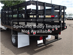 2018 Sierra 3500 Regular Cab DRW 4x4,  Monroe Stake Bed #JF267621 - photo 1