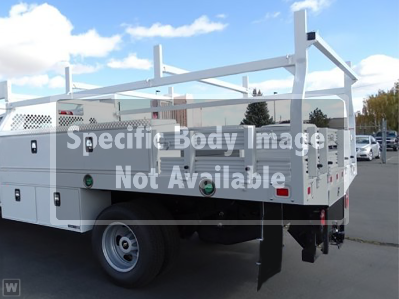 2019 Silverado 3500 Crew Cab DRW 4x4,  Knapheide Contractor Body #19-4218 - photo 1