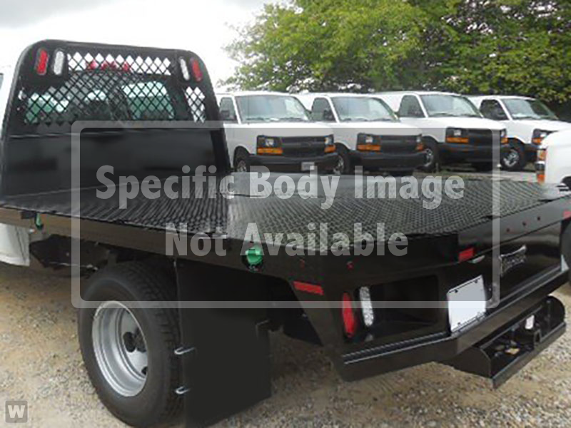 2019 Silverado 5500 Regular Cab DRW 4x2, Knapheide Platform Body #CM19147 - photo 1