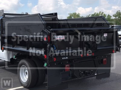 2019 Silverado Medium Duty Regular Cab DRW 4x2, Crysteel Dump Body #CF9T408597 - photo 1