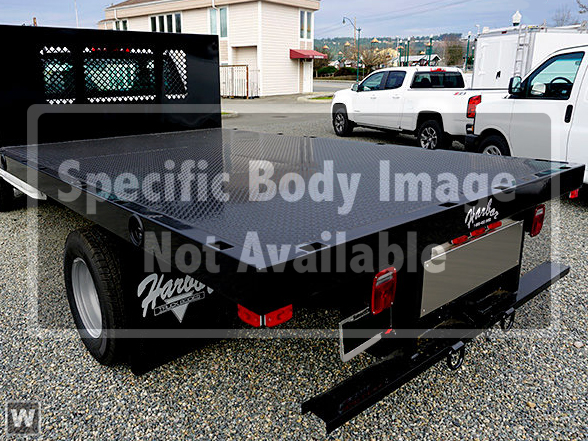 2018 Silverado 3500 Regular Cab DRW 4x2,  Harbor Platform Body #T18377 - photo 1