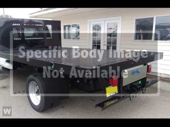 2018 Ram 3500 Regular Cab DRW 4x4,  Harbor Black Boss Platform Body #087393 - photo 1