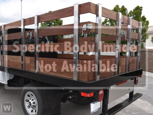2019 Silverado 3500 Regular Cab DRW 4x2,  Harbor Flat/Stake Bed #M19063 - photo 1