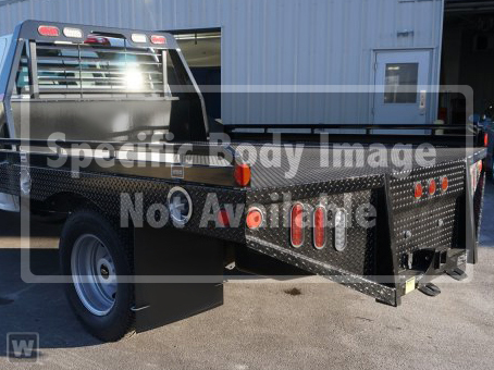 2019 Silverado Medium Duty Regular Cab DRW 4x2,  Hillsboro Platform Body #F7049 - photo 1